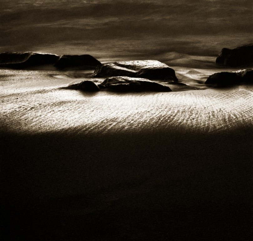 Figure On Beach© Jack Wasserback
