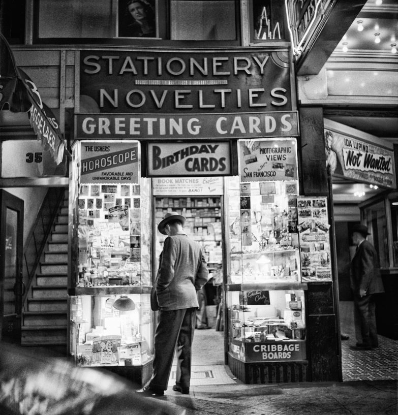 Novelty shop, San Francisco, © Fred Lyon