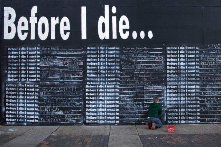 Before I Die © Vicki Hunt