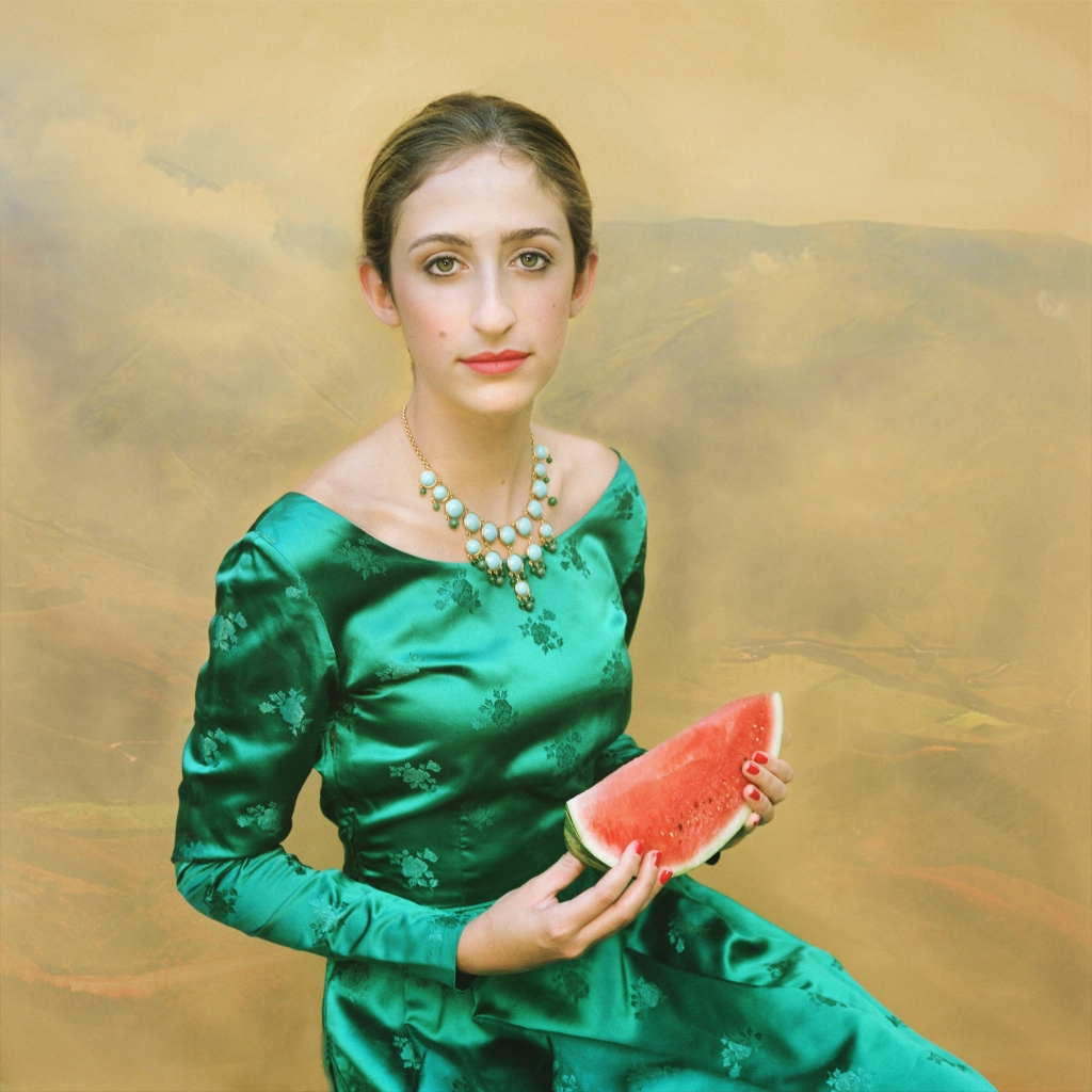 Bea with Watermelon © Aline Smithson