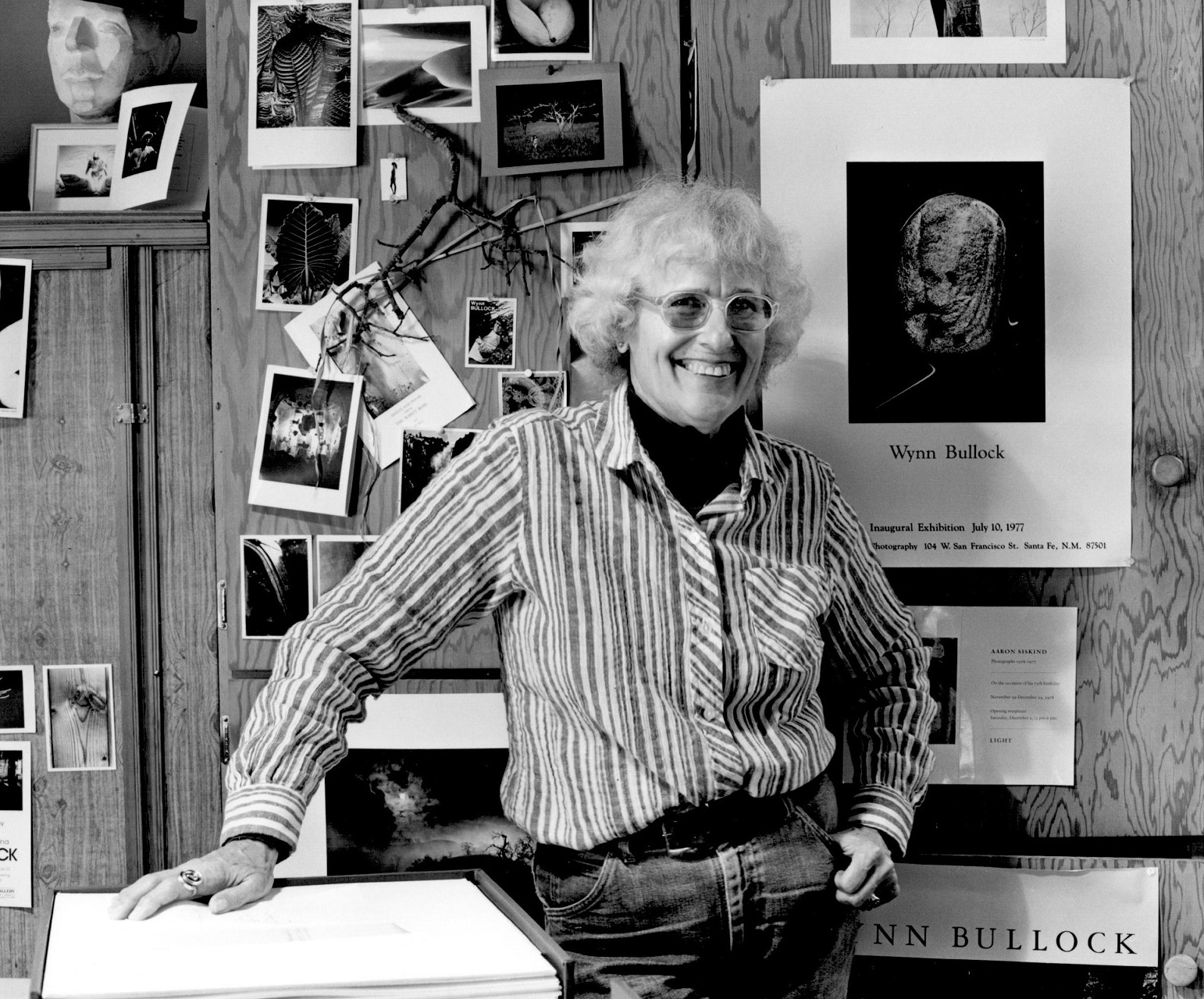 Edna in Home Studio by Kurt Fishback, 1980