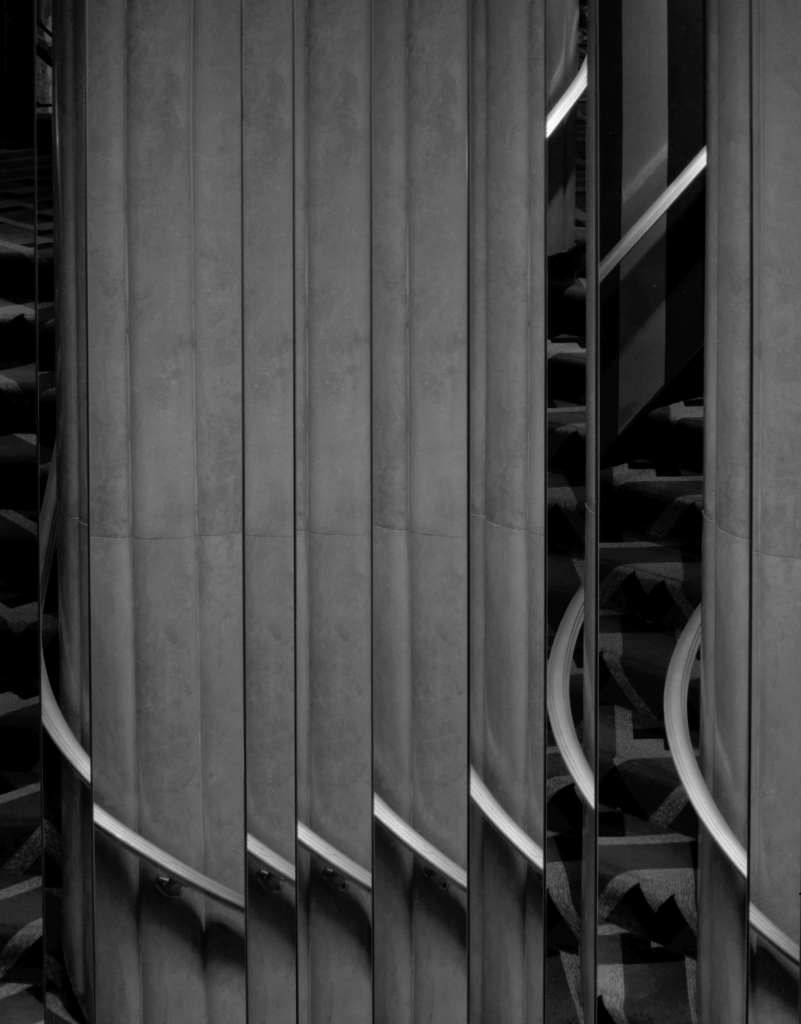 Mirrored Staircase © Alan Ross
