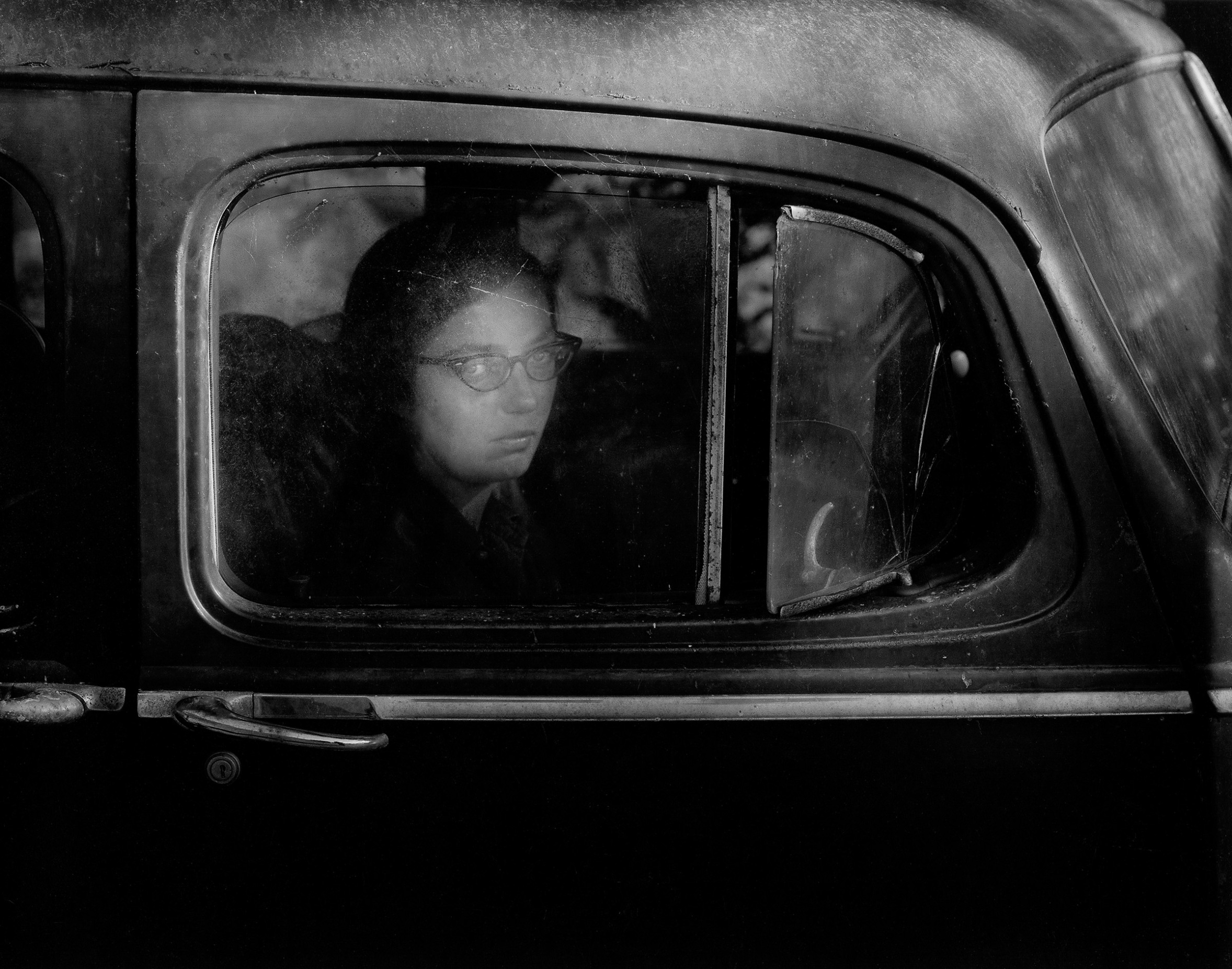 Girl in Car Wynn Bullock © Bullock Family Photography, LLC