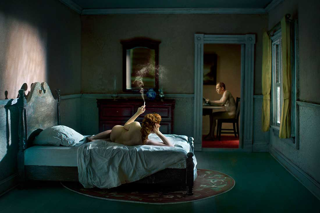 PInk Bedroom Odalisque © Richard Tuschman