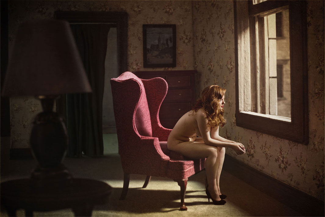 Woman at Window © Richard Tuschman