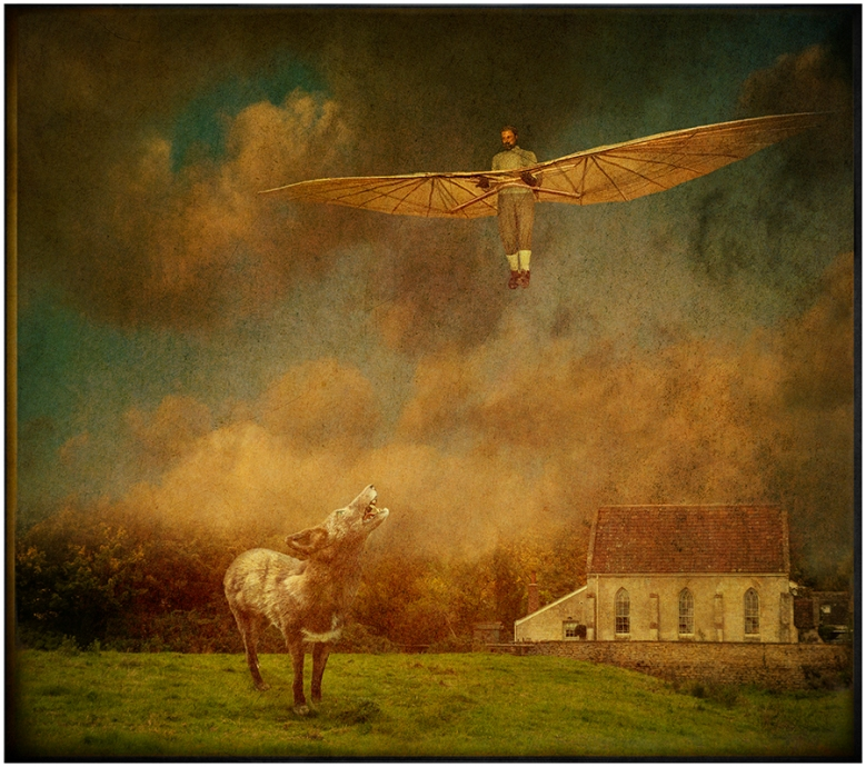 Glider over Lacock © Fran Forman
