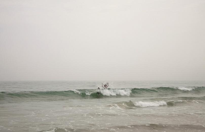 Girl in Surf © Matt Roberts