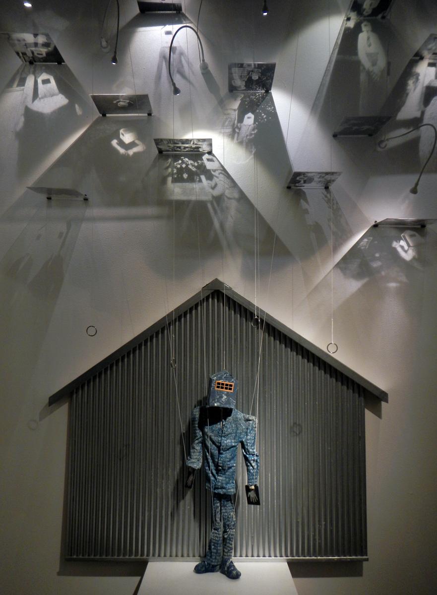 Puppet installation © Melanie Walker