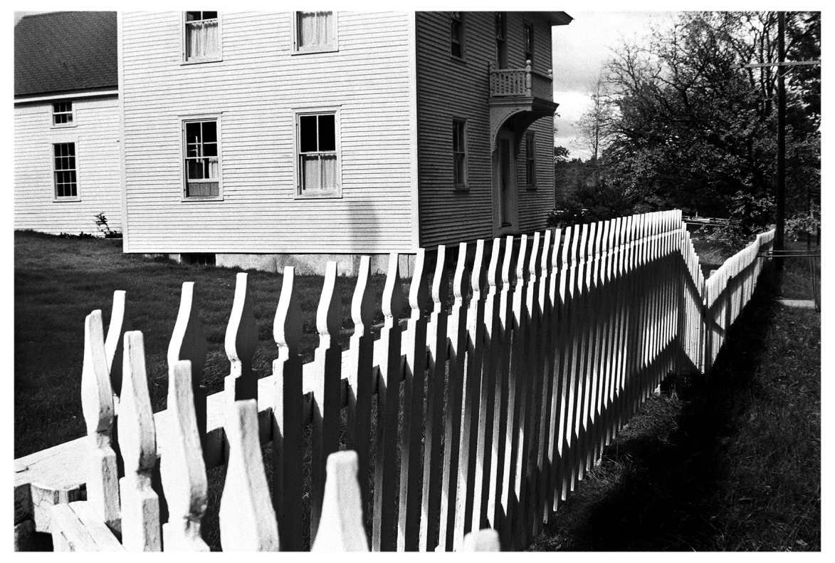 Shaker Fence © John Loengard
