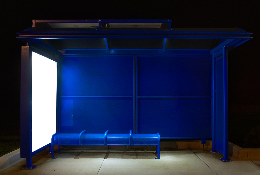 Blue Bench © Caroline Thompson