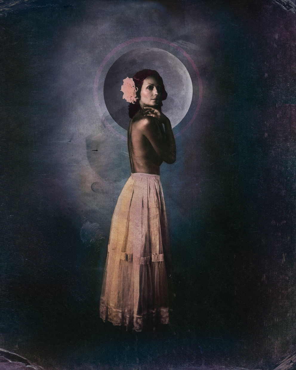 Our Lady of the Blue Moon © Laura Burlton
