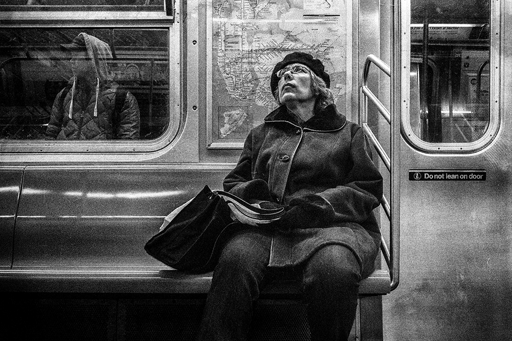 Subway Lady © Mitchell Hartman